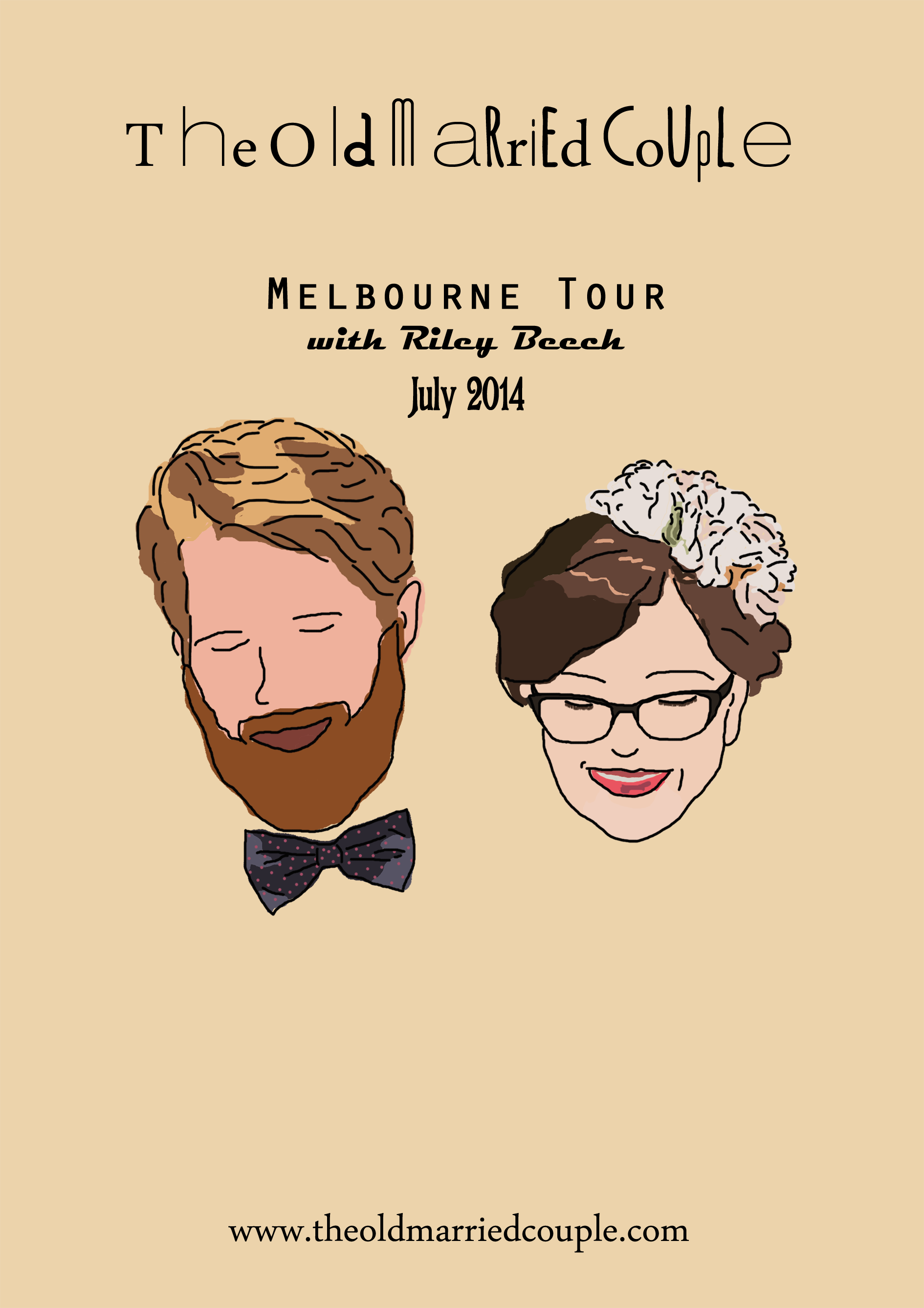 omc melbourne tour posterfacebook